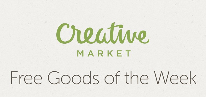 Free Goods of the Week – Creative Market