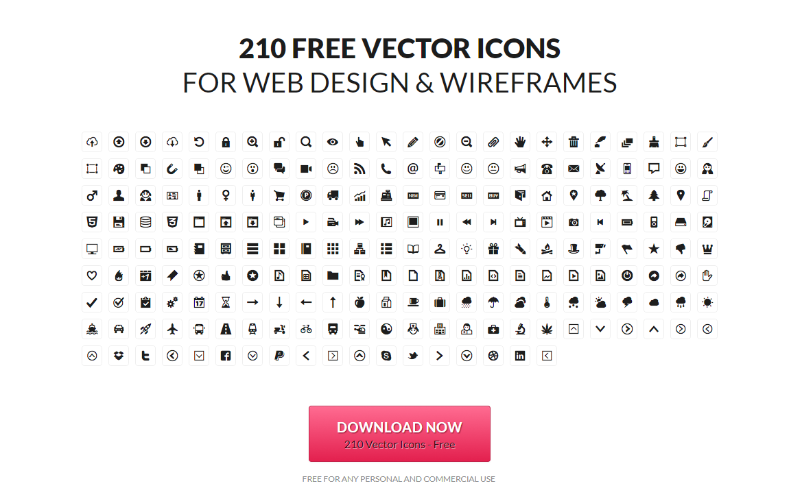 60 Free Icons Download Sites