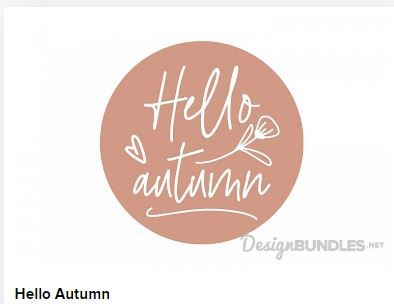 Hello Autumn Web3Canvas