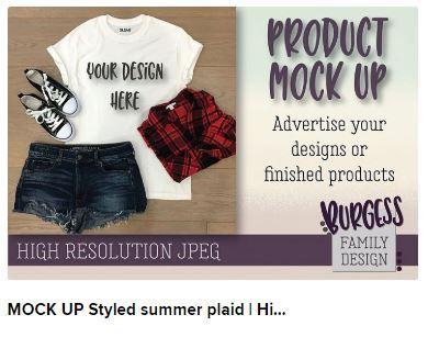 Mockup styled summer plaid Web3Canvas