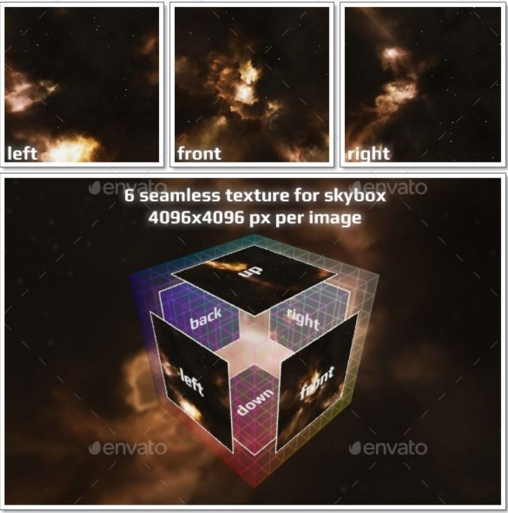 Nebula Space Environment HDRI Map 015 Web3Canvas