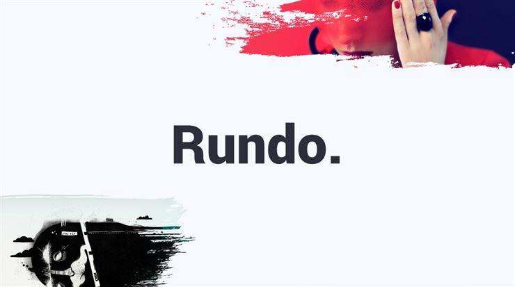 Rundo. Minimal and Creative Powerpoint Template Web3Canvas
