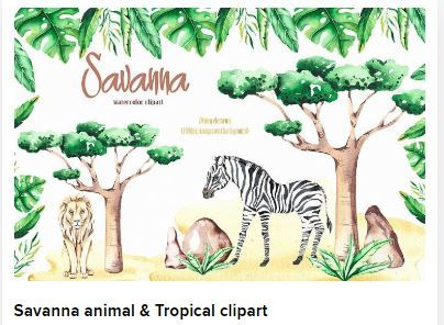 Savanna animal Web3Canvas