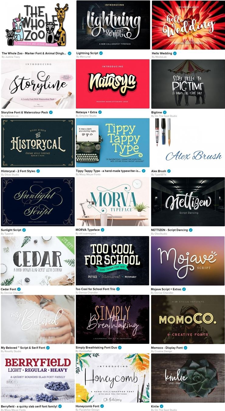The Fabulous Font Bundle Volume III Web3Canvas