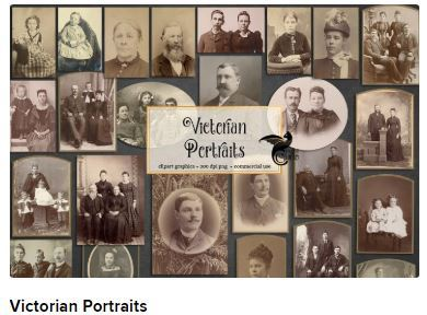 Victorian portraits Web3Canvas