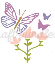 butterfly on a flower Web3CanvaS