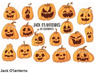 jack o lanterns Web3Canvas