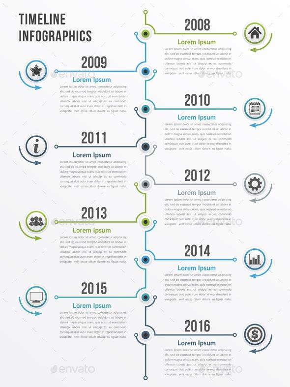 20 premium infographic elements for designers