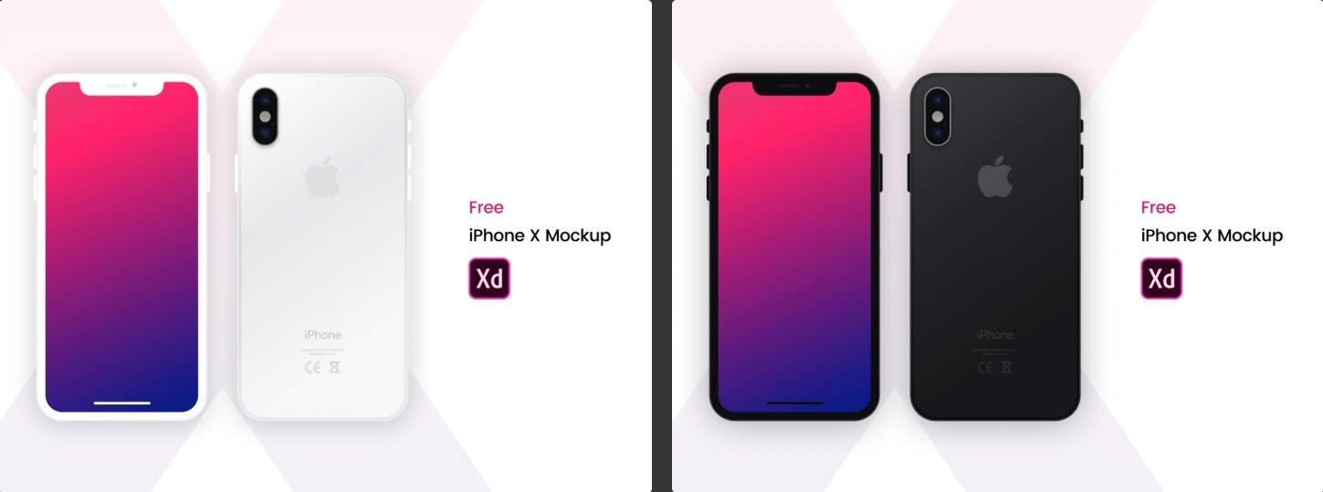 Just Drag And Drop Screens In XD Have Your Mockups Ready File Contains Both Dark Light IPhone X For Adobe