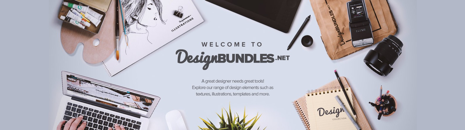 Premium, Free Design Resources by DesignBundles.net