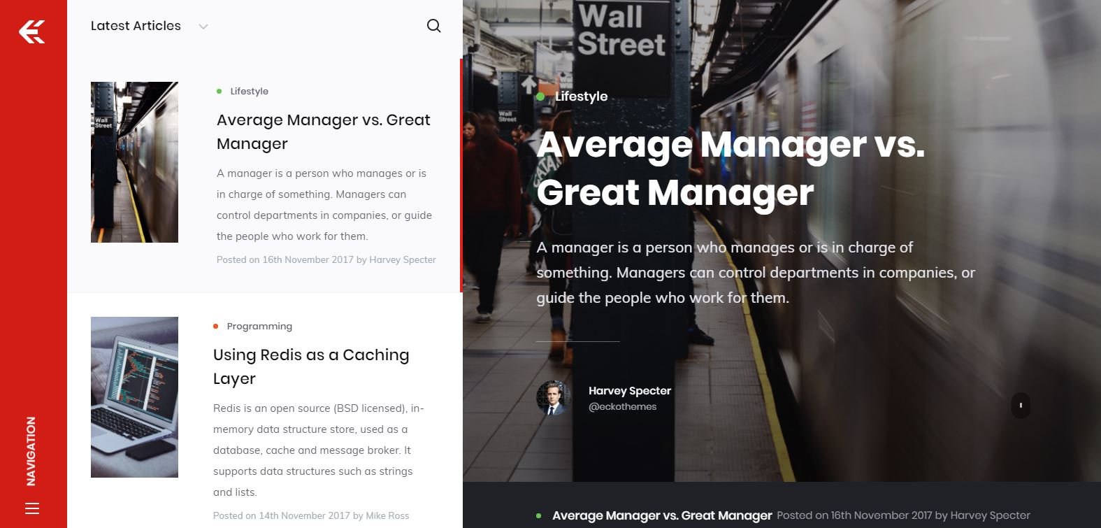 Best Blog & Magazine WordPress Themes - Web3Canvas