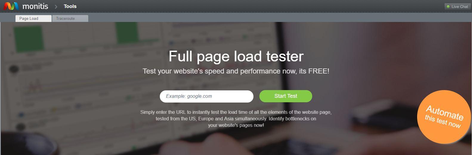 website load testing tools free