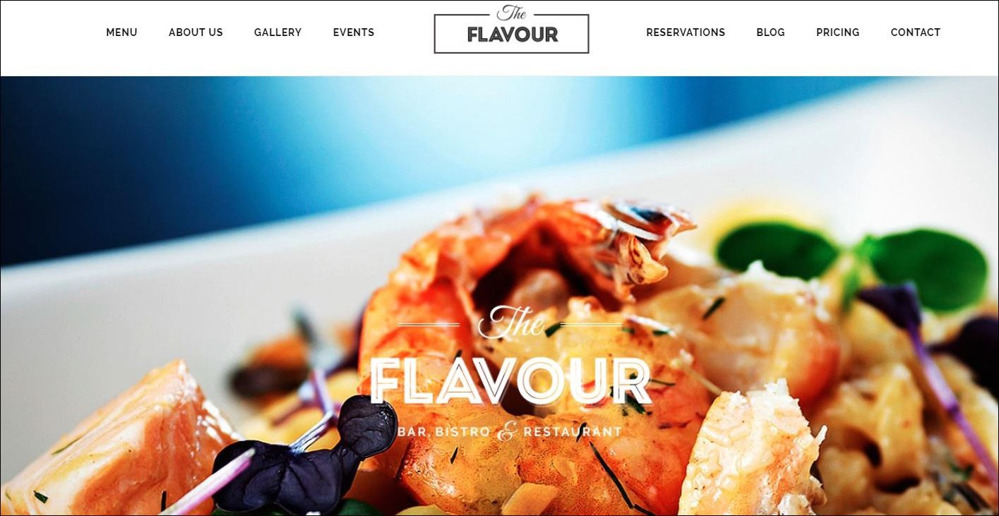 Best Restaurants WordPress Themes Web3canvas