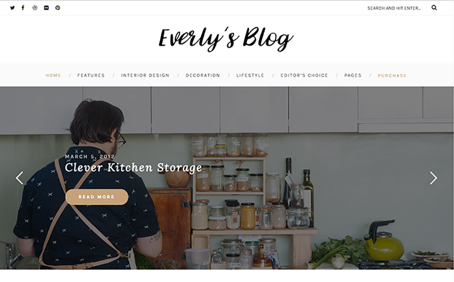 First-Rank Blogger Site WordPress Theme