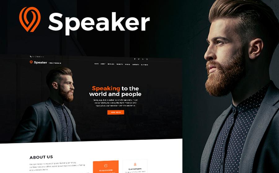 Powerful Coach Blog Cross-Browser WordPress Template