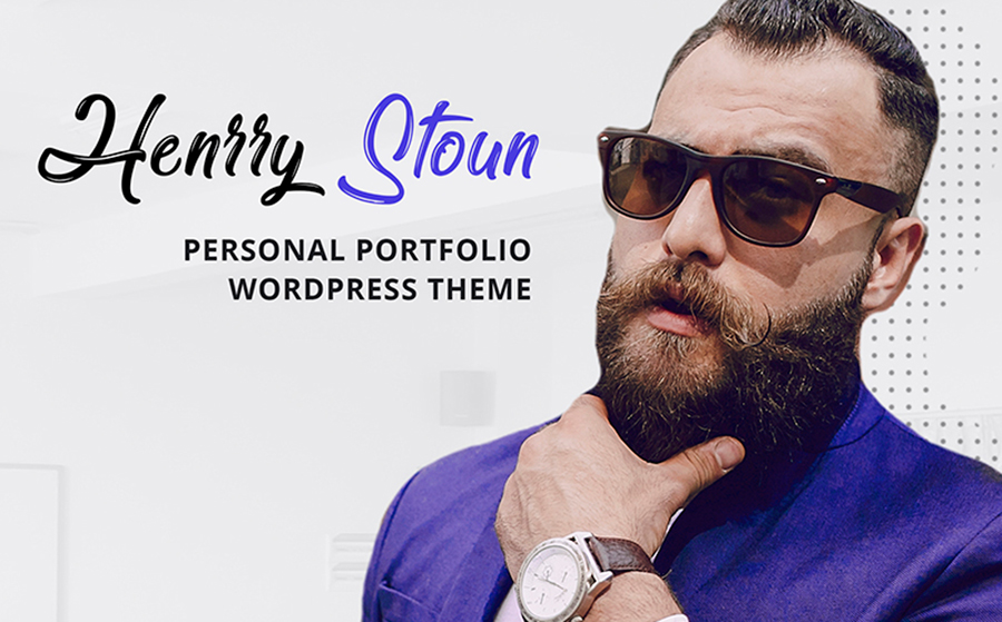 Stylishly Designed Personal Blog WordPress Theme