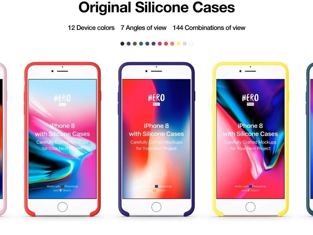60+ Premium iPhone Mockups
