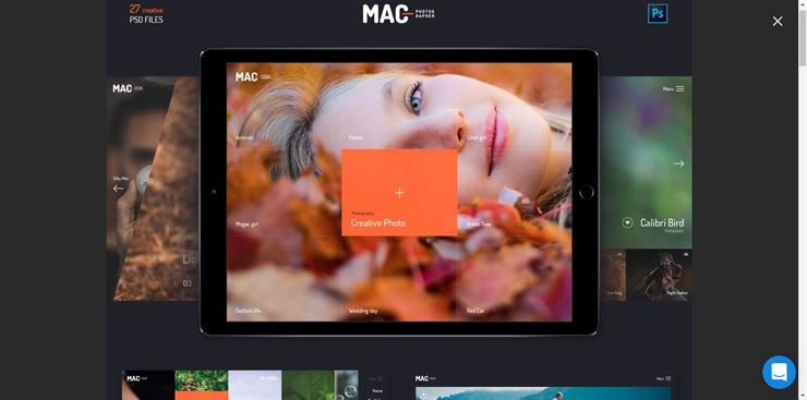 Mac Photographer Templates Web3Canvas