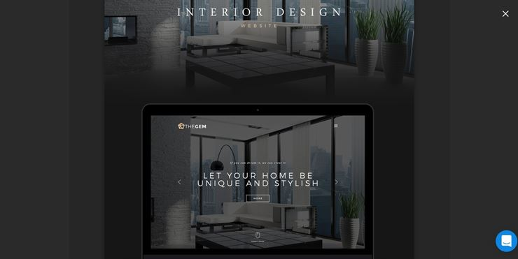 MyRoom - Elegant and Luxurious Interior Design Template Web3Canvas