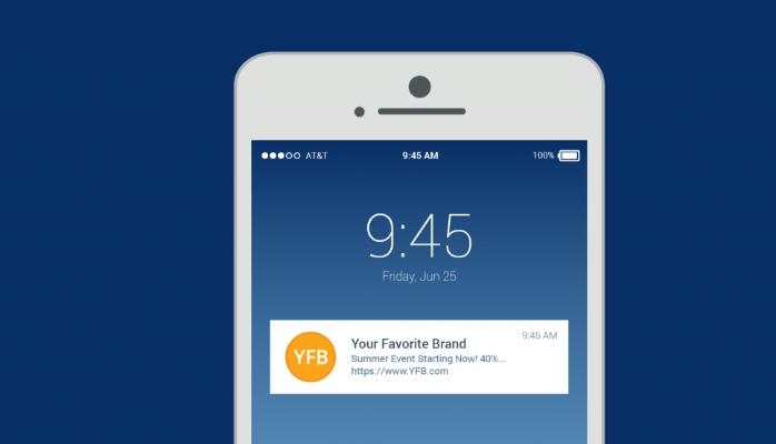 e-commerce push notification optimize