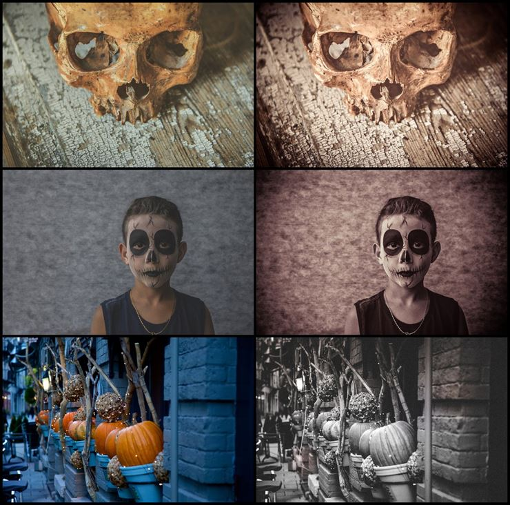 620+ Halloween Time Lightroom Preset Web3Canvas