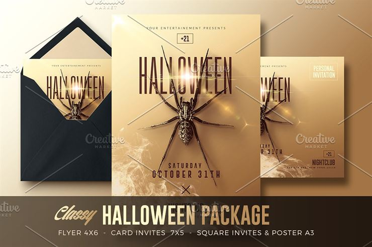 Classy Halloween Package Web3Canvas