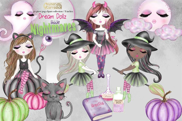 Dream Dolls Halloween Collection Web3Canvas