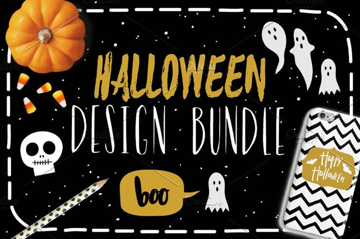Halloween Design Bundle Web3Canvas