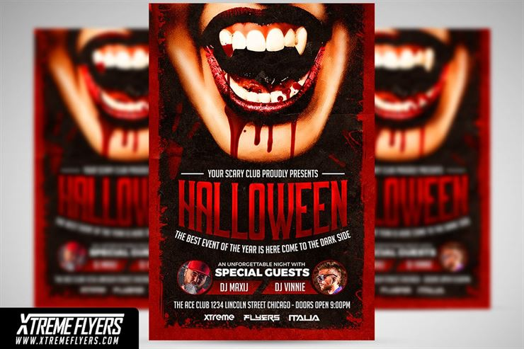 Halloween Flyer Web3Canvas