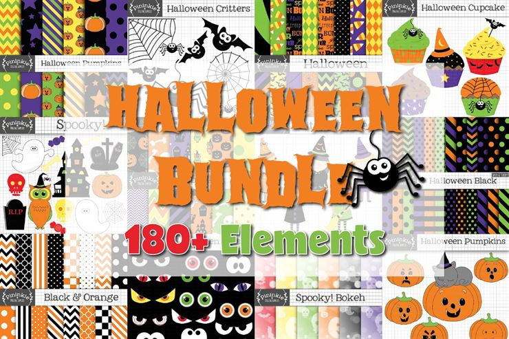 Halloween Graphics Bundle Web3Canvas