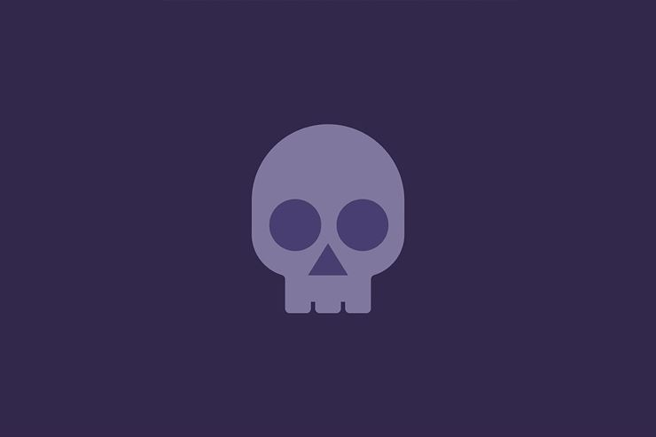 Halloween Trick or Treat Skull Icon Web3Canvas