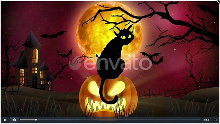 Halloween Video - 1 Web3Canvas