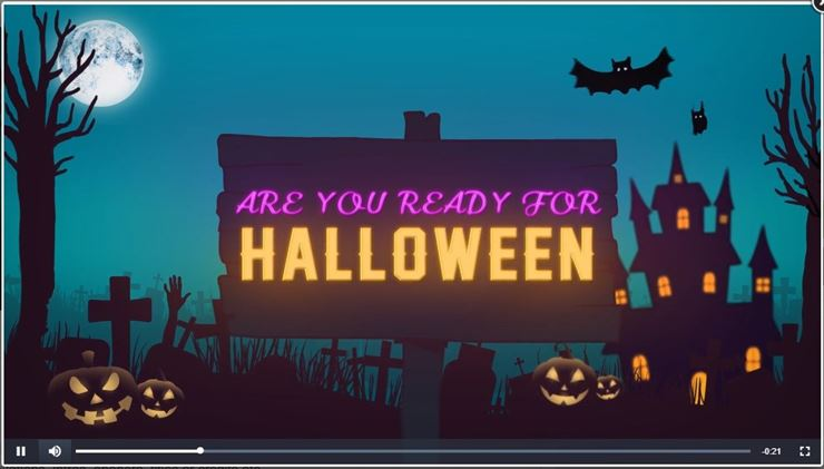 Halloween Video - 2 Web3Canvas