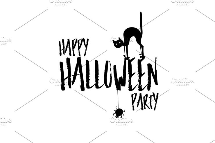 Happy Halloween Party Title Logo-1 Web3Canvas