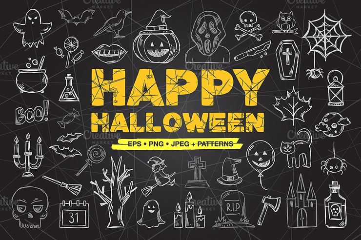 Happy Halloween Sketches Web3Canvas