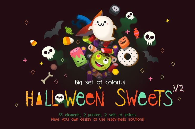 Loads of Sweets for Halloween. Pt 2 Web3Canvas