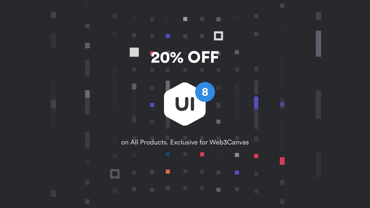 UI8 Coupon Code – 20% OFF on all Items
