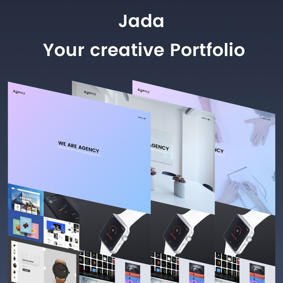 Jada - Creative Portfolio Website Template